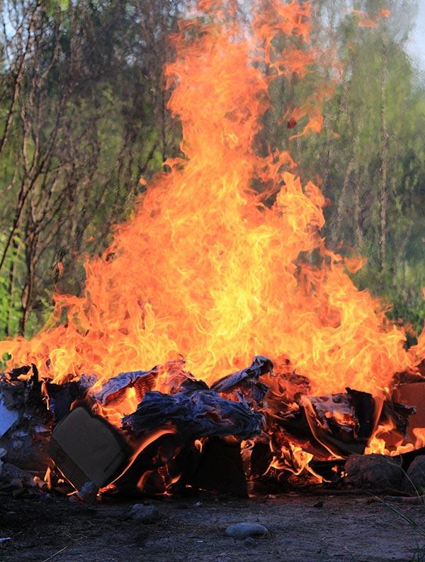 Burning Rubbish Craigieburn