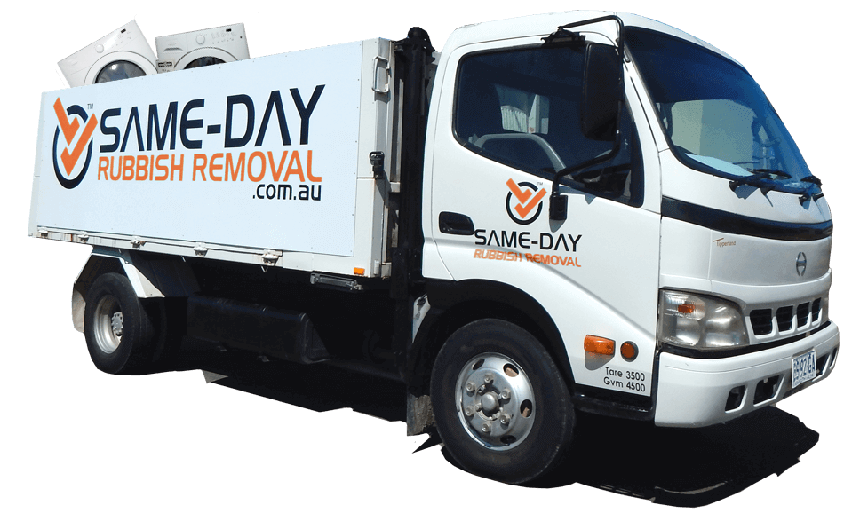 Same-Day Rubbish Removal Truck Washing Machine