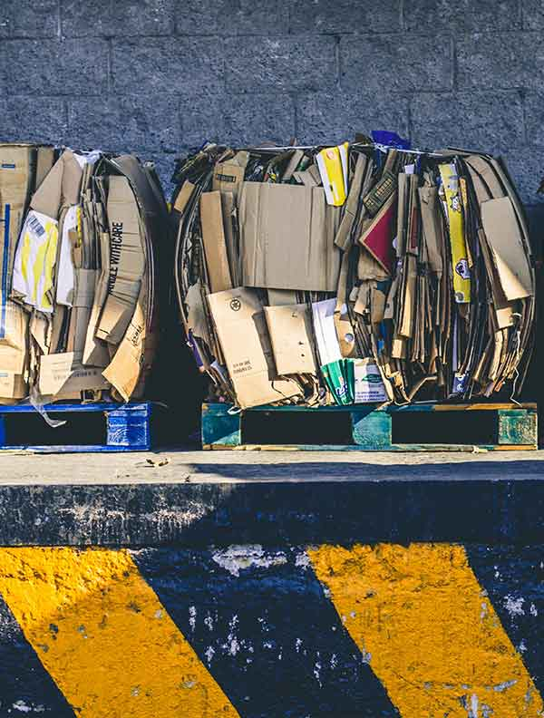 Commercial Cardboard Waste